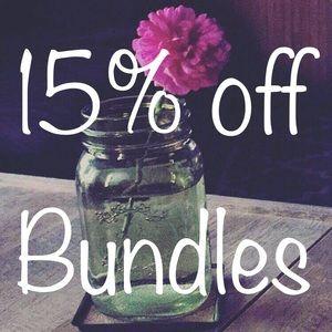 Bundle & Save 🖤